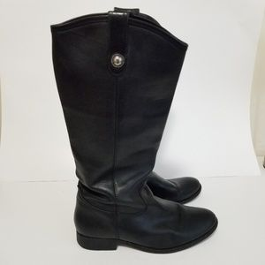 Frye size 9 leather tall boots